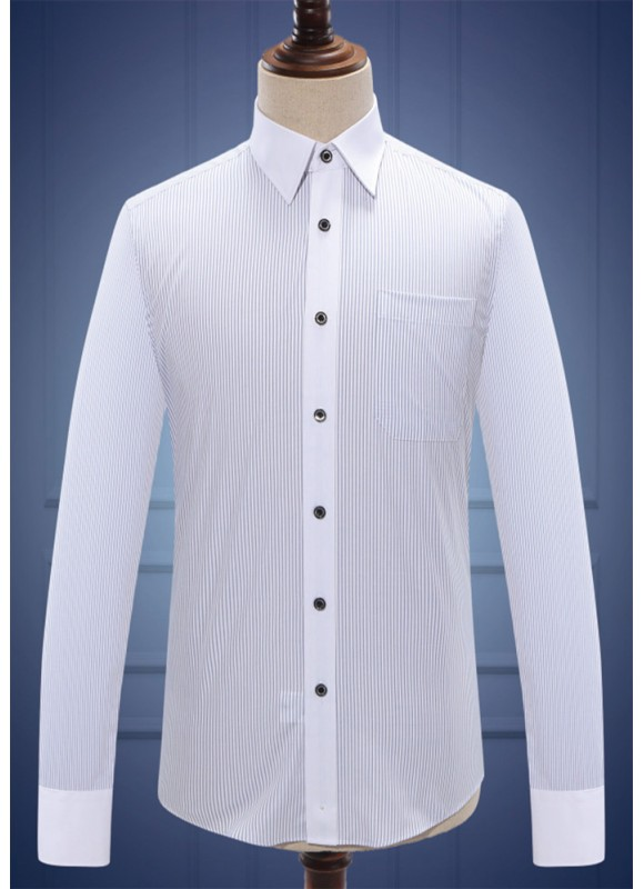 男衬衫长袖M100203
